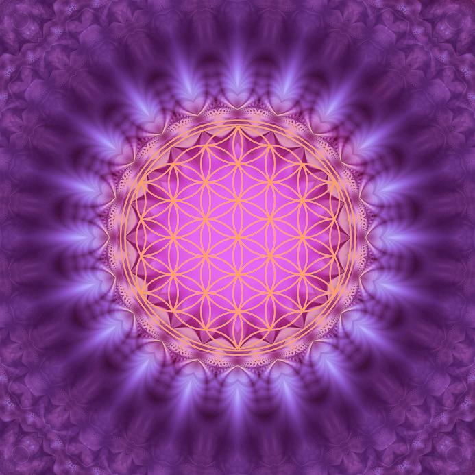 Blume des Lebens -  Energetisierung, Heilige Geometrie